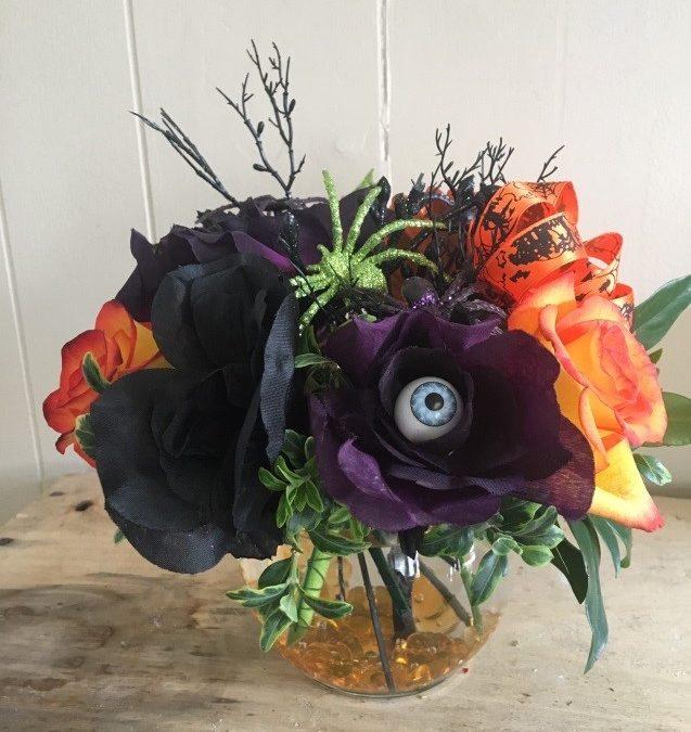 Halloween Flowers